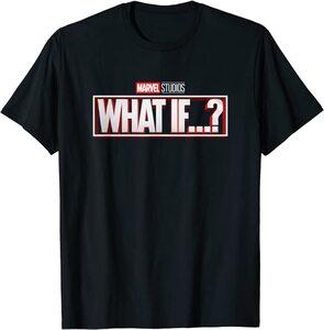 Camiseta What If Logotipo Serie
