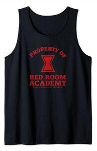 Camiseta sin Mangas Black Widow Red Room Academy