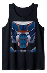 Camiseta sin Mangas Black Widow Traje Disfraz Taskmaster