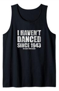 Camiseta sin Mangas Falcon y el Soldado de Invierno Bucky Barnes No he Bailado desde 1943