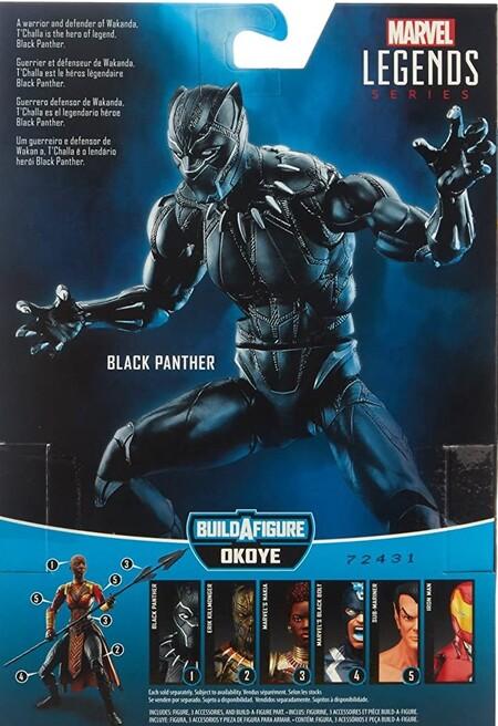 Extra de las figuras Marvel Legends Black Panther Okoye