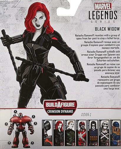 Extra de las figuras Marvel Legends Series de Black Widow 2