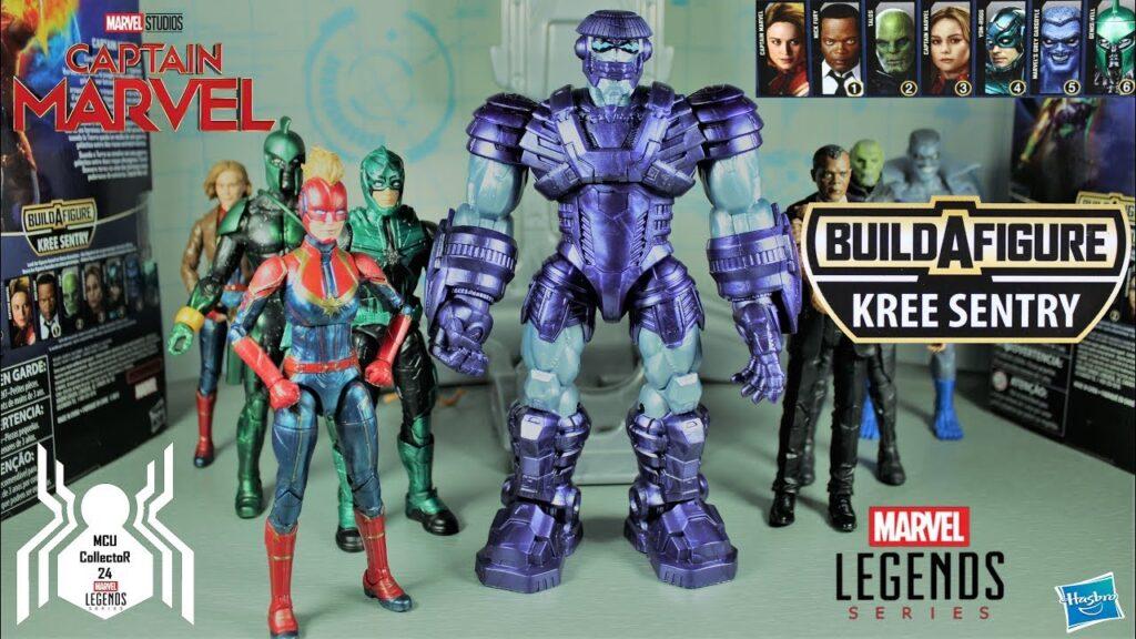 Extra de las figuras Marvel Legends Series de Capitana Marvel