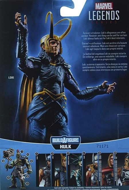 Extra de las figuras Marvel Legends Thor Ragnarok