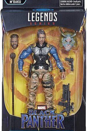 Figura Marvel Legends Black Panther Erik Killmonger MBaku