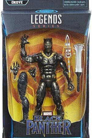 Figura Marvel Legends Black Panther Erik Killmonger Okoye