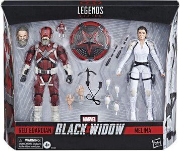 Figura Marvel Legends Black Widow Red Guardian y Melina Vostokoff