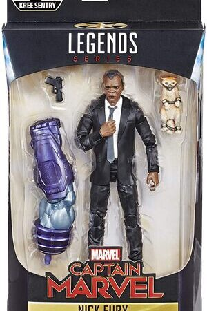 Figura Marvel Legends Capitana Marvel Nick Fury