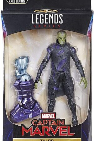 Figura Marvel Legends Capitana Marvel Talos