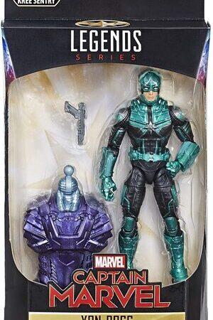 Figura Marvel Legends Capitana Marvel Yon-Rogg