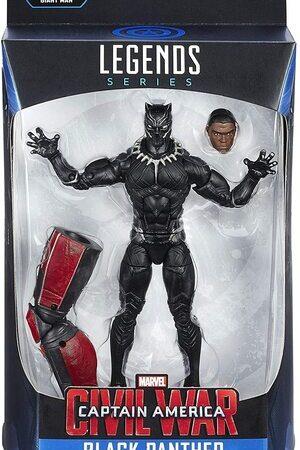 Figura Marvel Legends Civil War Black Panther