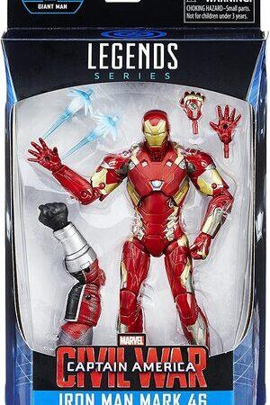 Figura Marvel Legends Civil War Ironman