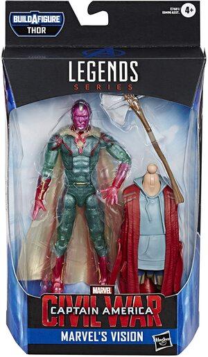 Figura Marvel Legends Civil War Visión
