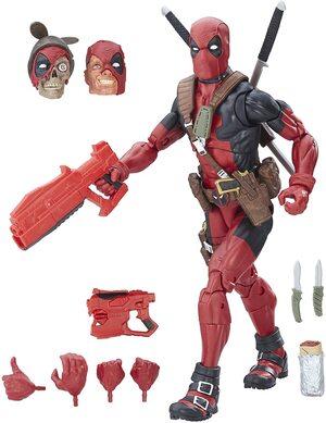 Figura Marvel Legends Deadpool Coleccionista