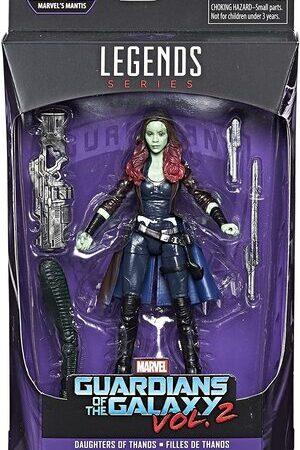 Figura Marvel Legends Guardianes de la Galaxia Gamora