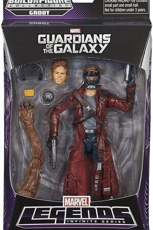Figura Marvel Legends Guardianes de la Galaxia Star Lord Clasico