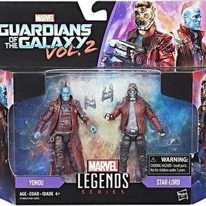 Figura Marvel Legends Guardianes de la Galaxia Yondu y Star Lord