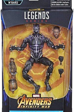 Figura Marvel Legends Infinity War Black Panther