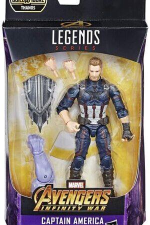 Figura Marvel Legends Infinity War Capitan America