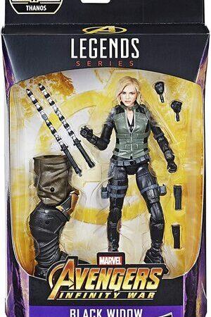 Figura Marvel Legends Infinity War Viuda Negra