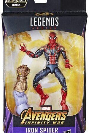 Figura Marvel Legends Infinity War y Iron Spider