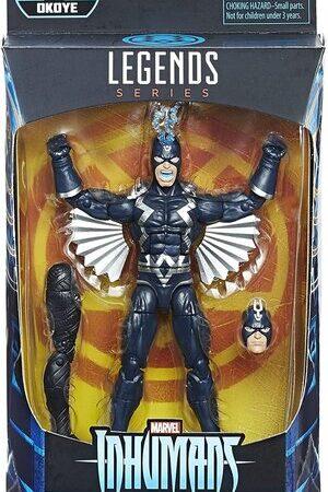 Figura Marvel Legends Inhumans Black Bolt