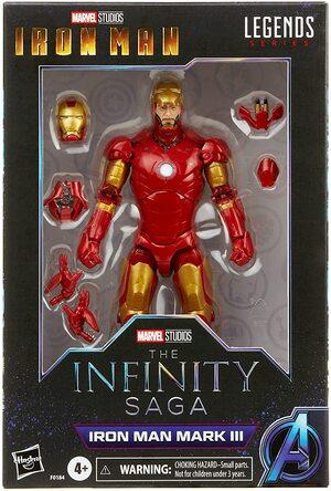Figura Marvel Legends Ironman Mark 3