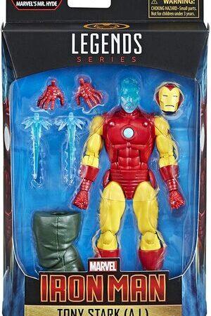 Figura Marvel Legends Ironman Tony Stark (A.I)