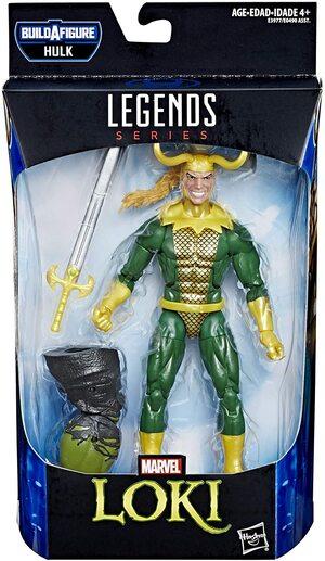 Figura Marvel Legends Loki Clásico