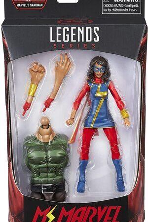 Figura Marvel Legends Ms Marvel Kamala Khan