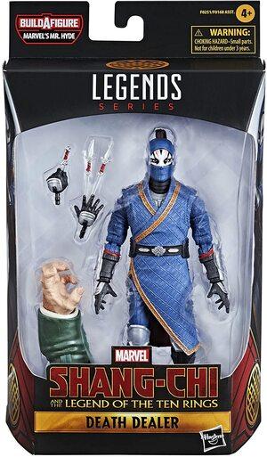 Figura Marvel Legends Shang Chi y La Leyenda de los 10 Anillos Death Dealer