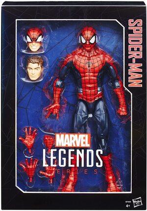 Figura Marvel Legends Spider-Man Clasico