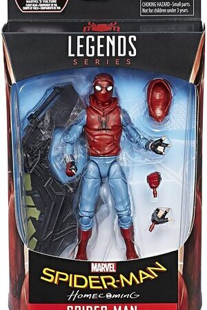 Figura Marvel Legends Spider-Man HomeComing Spider-Man Traje Casero