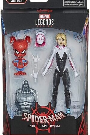 Figura Marvel Legends Spider-man Into the Spiderverse Gwen Stacy