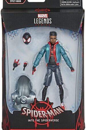 Figura Marvel Legends Spider-man Into the Spiderverse Miles Morales