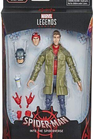 Figura Marvel Legends Spider-man Into the Spiderverse Peter B. Parker