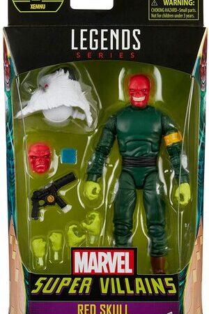 Figura Marvel Legends Super Villanos Red Skull