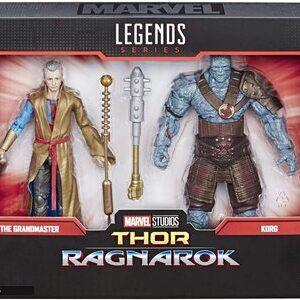 Figura Marvel Legends Thor Ragnarok El Gran Maestro y Korg