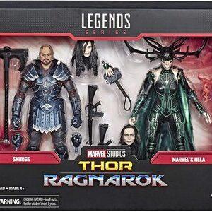 Figura Marvel Legends Thor Ragnarok Skurge y Hela