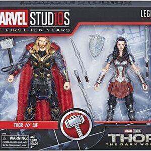 Figura Marvel Legends Thor y Sif