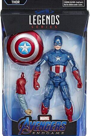 Figura Marvel Legends Vengadores Endgame Capitan America
