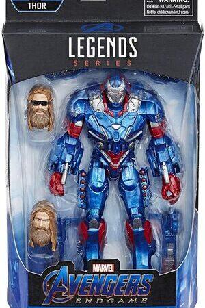 Figura Marvel Legends Vengadores Endgame Iron Patriot