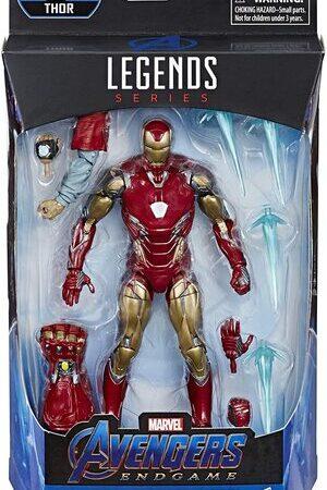 Figura Marvel Legends Vengadores Endgame Ironman