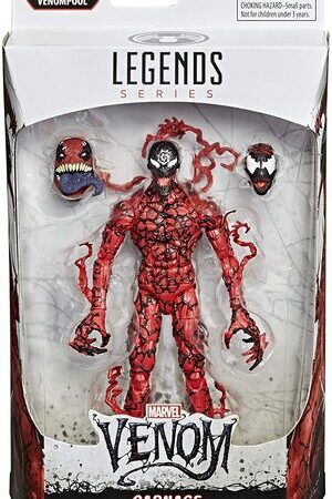 Figura Marvel Legends Venom Carnage