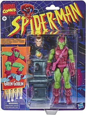 Figura Marvel Legends Vintage Marvel Comics Duende Verde