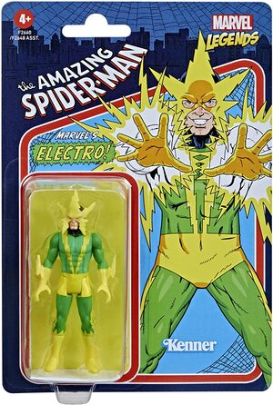 Figura Marvel Legends Vintage Marvel Comics Electro