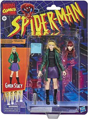 Figura Marvel Legends Vintage Marvel Comics Gwen Stacy