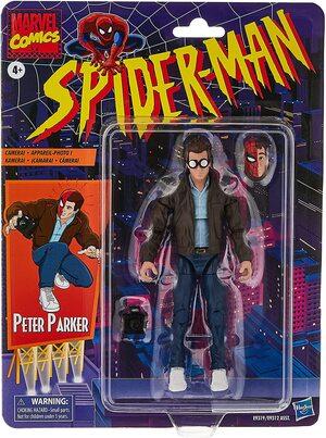 Figura Marvel Legends Vintage Marvel Comics Peter Parker