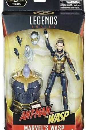 Figura Marvel Legends Wasp de Ant-Man y la Avispa (Thanos)