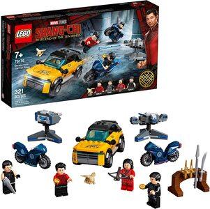 Lego Shang Chi Escape de los 10 anillos con Shang-Chi, Katy, Wenwu y Razor Fist